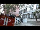 Пожар в квартире по улице Харьковская г.Тюмень