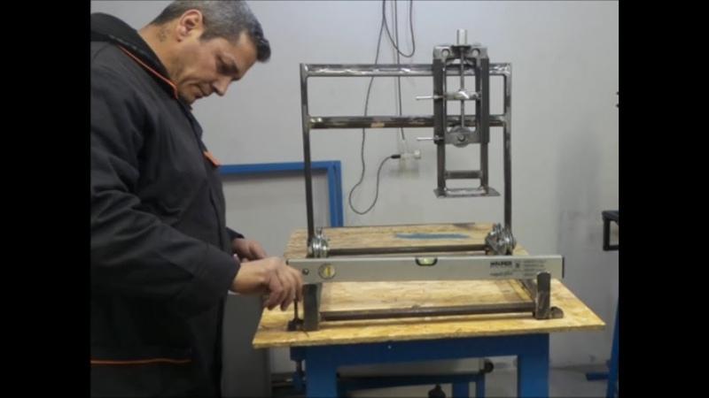 🔨Come Fare Un Pantografo Fresa Pialla Fai Da Te Homemade router cutter DIY 2