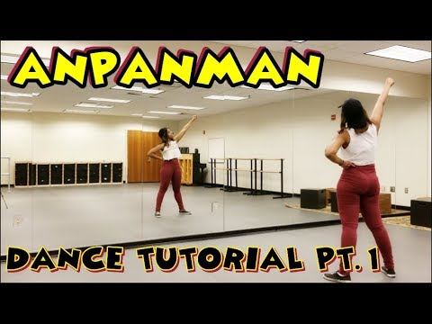 BTS 방탄소년단 ANPANMAN DANCE TUTORIAL PART 1