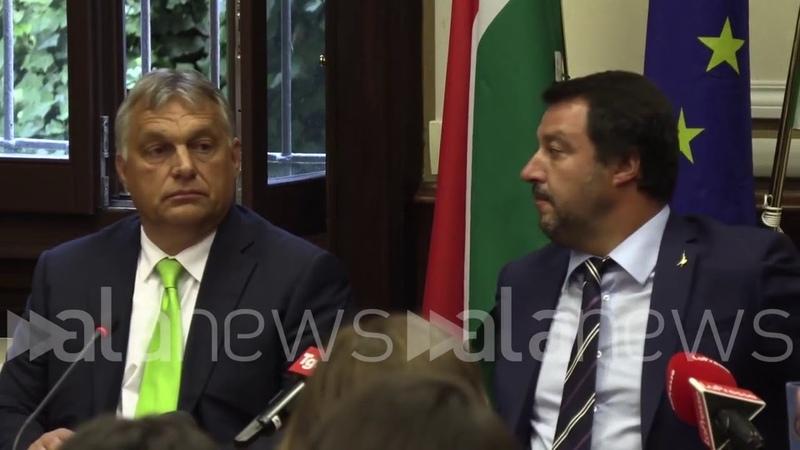 Immigrazione, Orban: Dal successo di Salvini dipende sicurezza europea