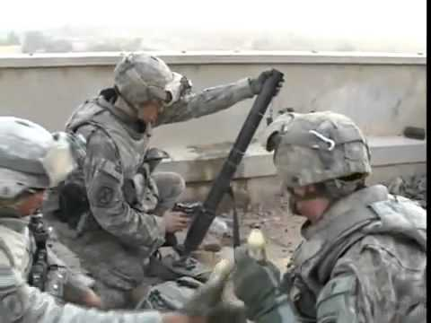 U.S. Army Soldiers Firefight In Iraq