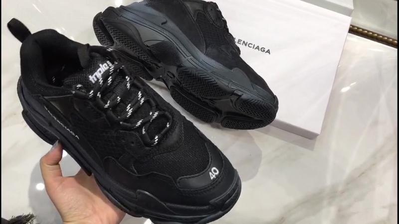 Balenciaga Triple S new collection кроссовки 👟 💣💣💣 копия люкс 1:1,(ААА) в комплектации фирменная коробка, пыльник,документы‼ нат