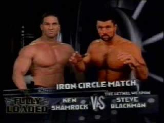 [WM] Fully Loaded 1999 Ken Shamrock vs Steve Blackman