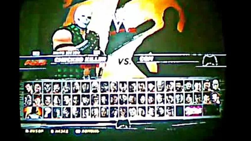 WWE 12 Созданный ростер часть 1 Duncan vs Big show and mini mysterio , Crossbones vs booker t