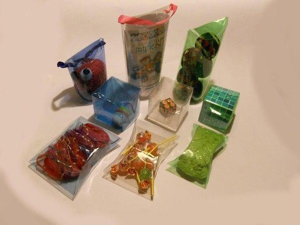 Схемы упаковок бутылок