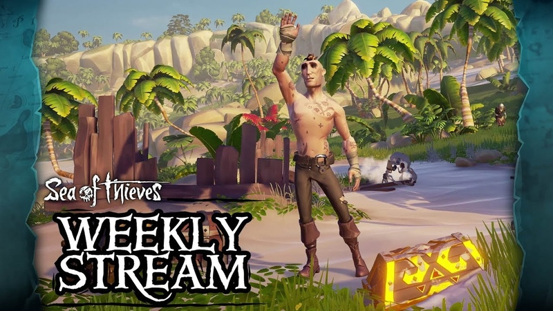 Sea of Thieves Weekly Stream: Scavenger Hunt