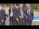 Когда защимило сидалищный нерв. Президент ЕС Юнкер
