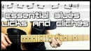Top 10 Blues Licks Every Guitarist Should Know! | With Tab