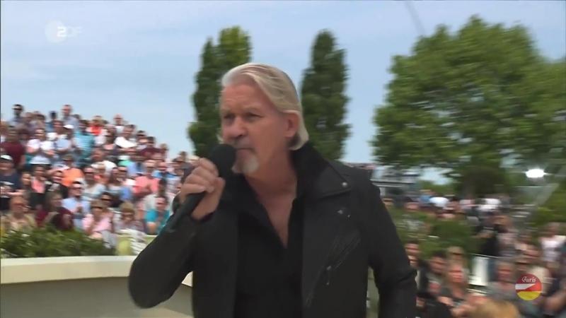Johnny Logan «House of Lucille» ZDF-Fernsehgarten 13.05.2018