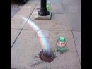 Playful 3D Chalk Art on the Streets by David Zinn