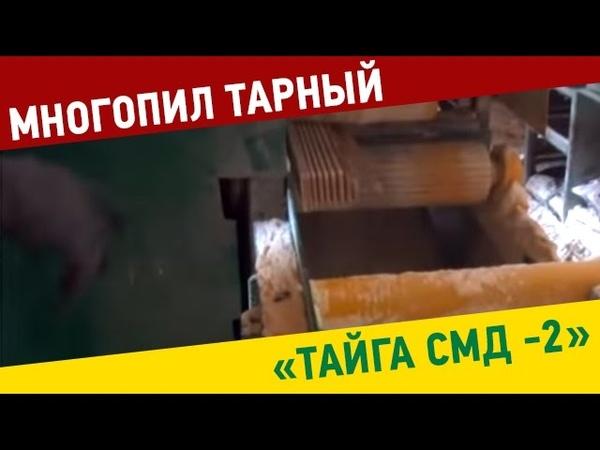 Многопил Тарный Тайга СМД 2