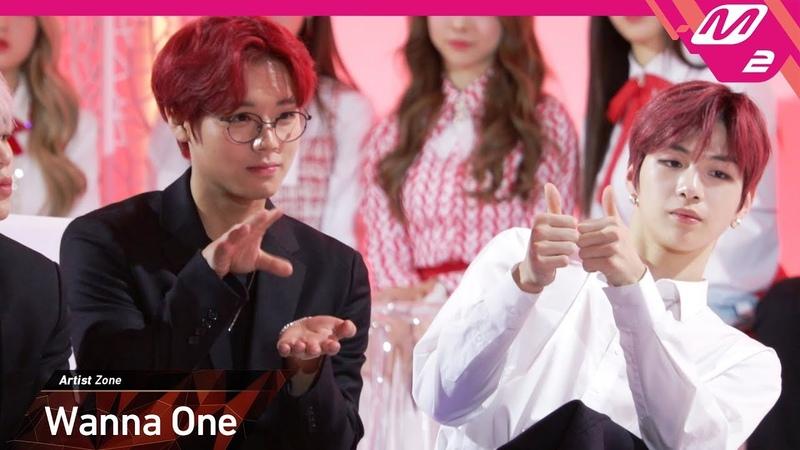 [2018MAMA x M2] 워너원(Wanna One) Reaction to 아이즈원(IZ*ONE)'s Performance in KOREA