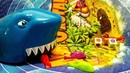 Shark Family Fun Board Games for Kids with Toys children play at home 4