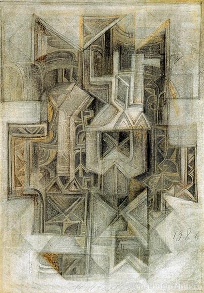 Михаил Матвеевич Шварцман ( 1926 - 1997, Москва) — российский художник-авангардист. В 1950–1956 учился в Московском высшем художественно-промышленном училище (бывшее Строгановское). В 1966–1985