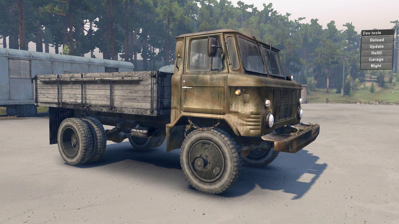 ГАЗ САЗ-3511-66 для бета 25.07.15 для Spintires - Скриншот 1