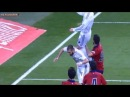 Cristiano Ronaldo Hangtime crashes into Karim Benzema, lands in uncompromising position