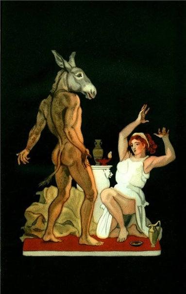 «Золотой осел, или Превращения Луция». Иллюстрации Мило Манара