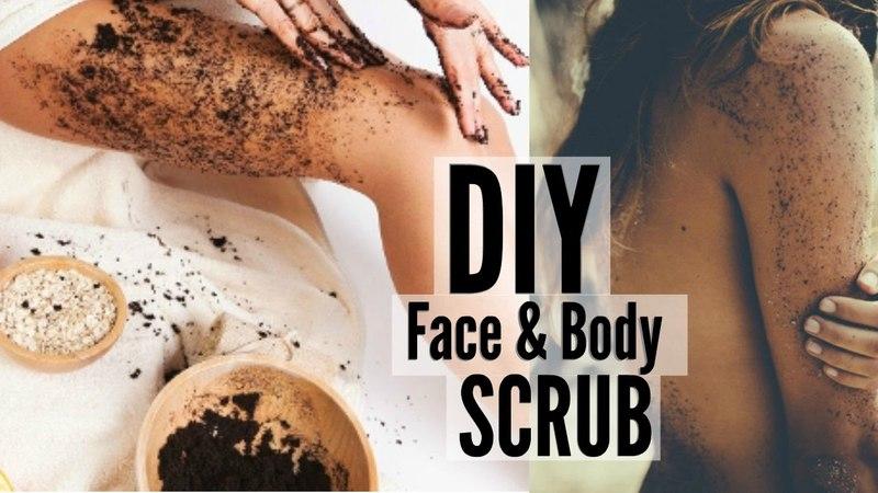 DIY: Coffee Scrub to Get Rid of Body Acne Cellulite!