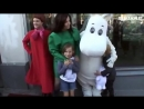 Björk and Isadora attend The Moomins The Comet Chase premiere (Helsinki 2010)