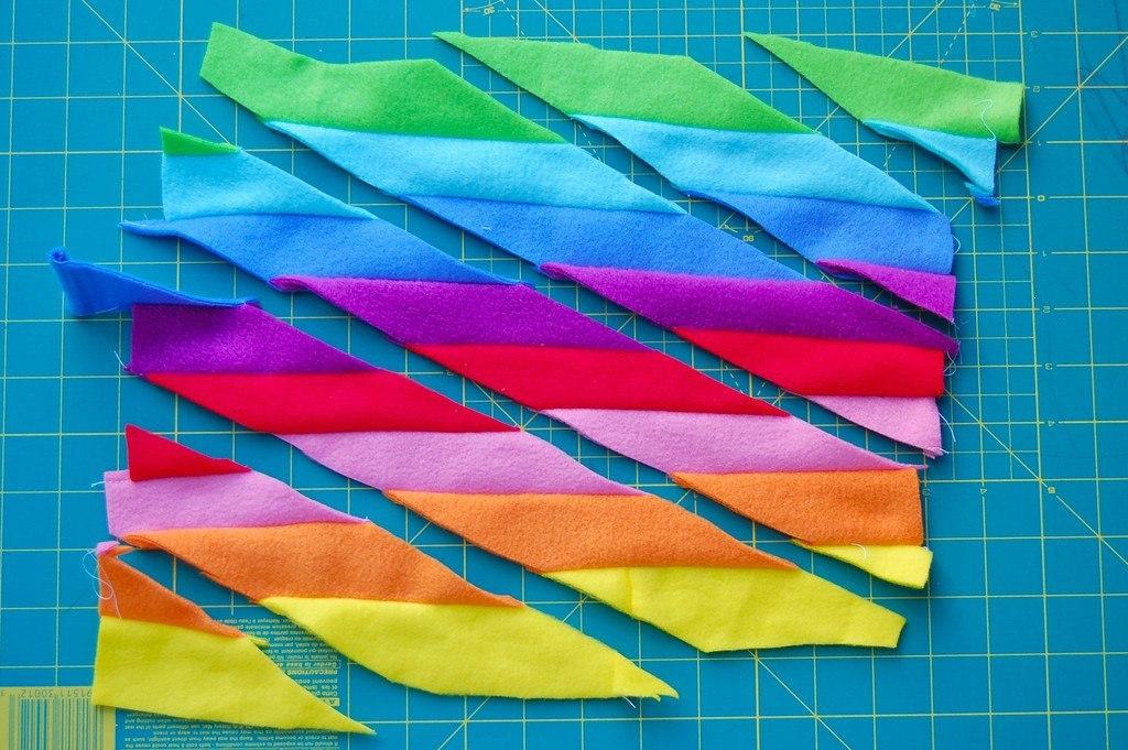 Ленты из ткани сшить