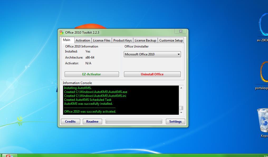 office 2010 toolkit and ez activator 2.2 3 descargar