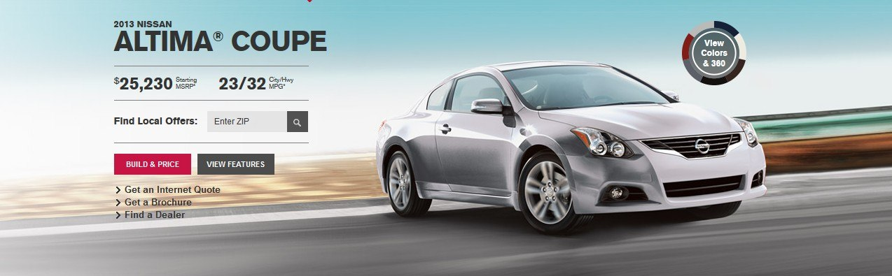 Altima coupe 2013