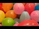 Tiup Balon Warna Warni Bareng Bunda Seru Banyak Balon Sambil Belajar Berhitung dan Belajar Warna