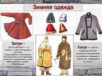 Верхняя женская зимняя одежда на руси