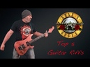 Guns N' Roses Top 5 Guitar Riffs