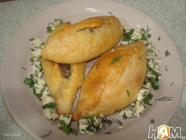 Пирожки с сырым фаршем в духовке пошаговый рецепт