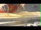Изготовление Камина из мрамора. 6-я серия (армировка колонн)