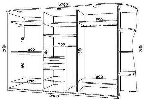 Как сделать шкаф-купе своими руками?