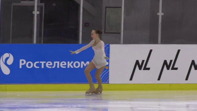 Всероссийские соревнования по фигурному катанию на призы ЗТР В Н Кудрявцева 29 апреля