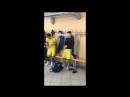Раздевалка Анжи U17 после игры
