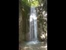 И еще водопад Мельничной щели уже на посещаемом маршруте