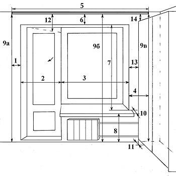 ГОСТ 24699-81 Окна и балконные двери деревянные со