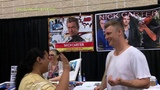 Reading my dirty thoughts to Nick Carter at Knoxville Fanboy Expo - YouTube