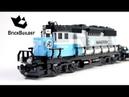 Lego Trains 10219 Maersk Train Lego Speed Build