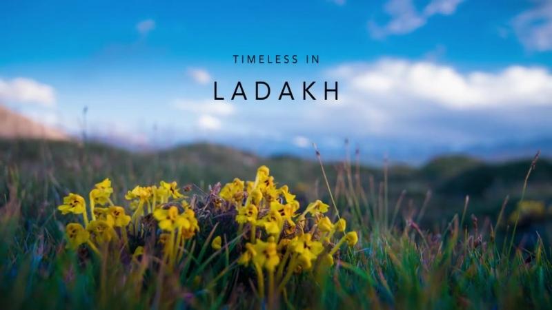 Stunning timelapses of Ladakh Timeless journey in 4k