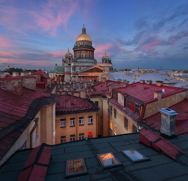 Исаакиевский собор, Санкт-Петербург. Автор фото — Сергей Дегтярёв: nat-geo.ru/photo/user/292323/