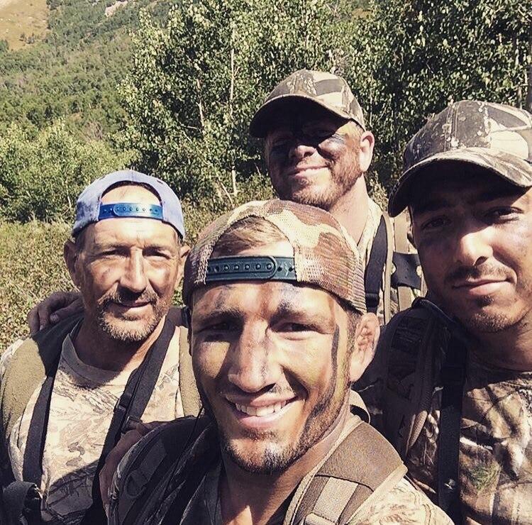 Чед Мендес на охоте