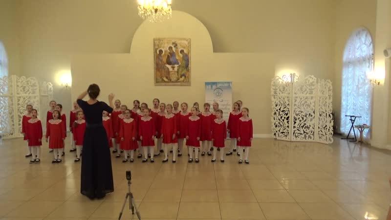 Младший хор девочек Хоровой Школы-Студии «Рондо»