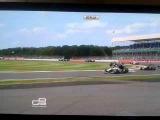 Patrick Kujala GP3 crash at Silverstone