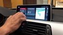 Установили в BMW F30 NBT EVO с тач дисплеем от X5 F15