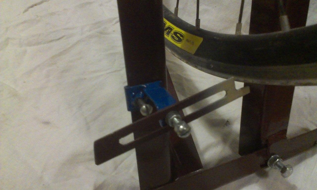Станок для велоколес своими руками 12