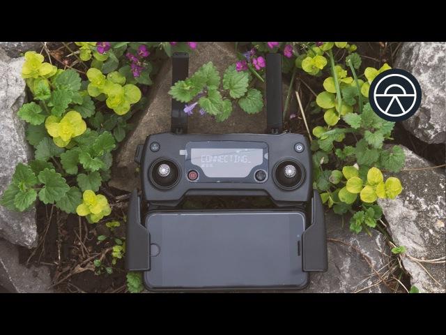DJI Mavic Pro - Настройка контроллера для плавного движения дрона