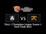 Alliance vs Fnatic - Dota 2 Champions League Season 3 Semi Finals (BO5)