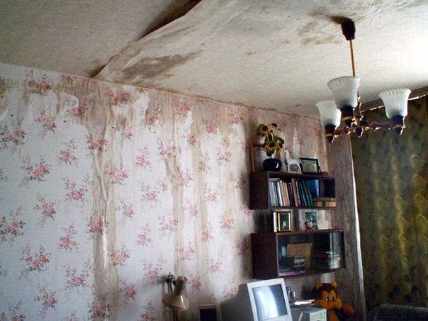 Квартира соседей залитых Александром Гобозовым