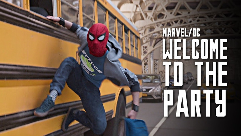 MARVEL/DC || Welcome to the Party