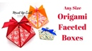 Origami Gift Box | Faceted Gift Box